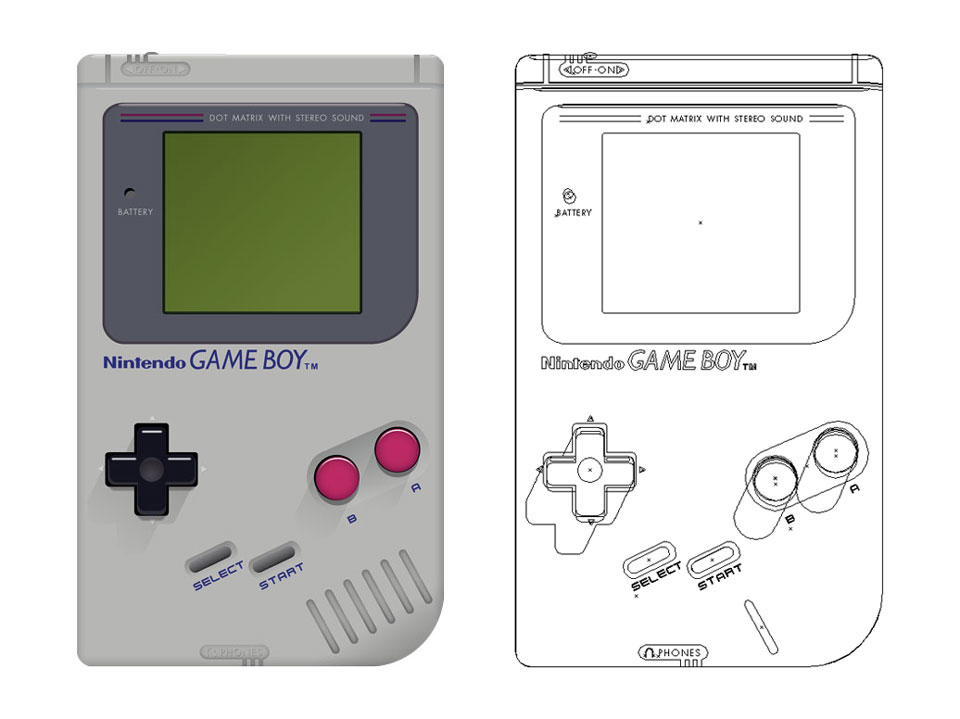 Game Boy - Graphic Design by James Marchment