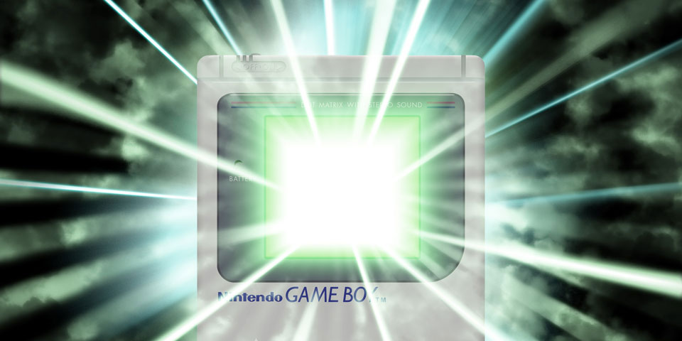 Nintendo Game Boy Awesome James Marchment Design
