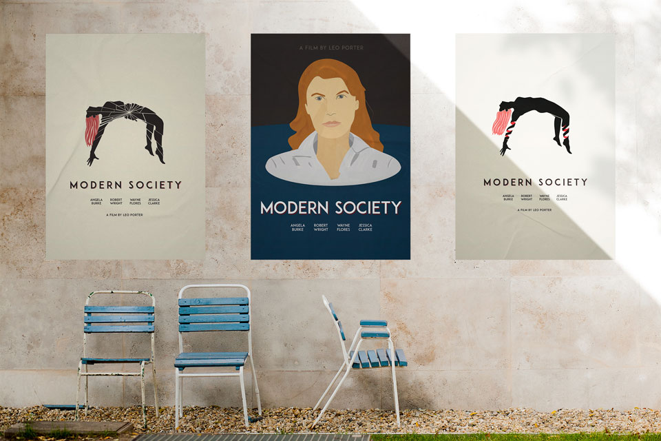 Modern Society Poster Series by James Marchment