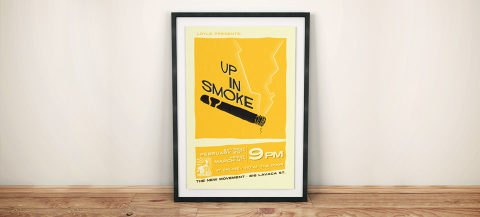 drama saul bass inspired retro sixties film noir poster graphic design james marchment